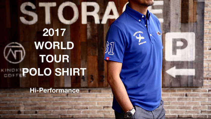WORLD TOUR POLO BANNER小