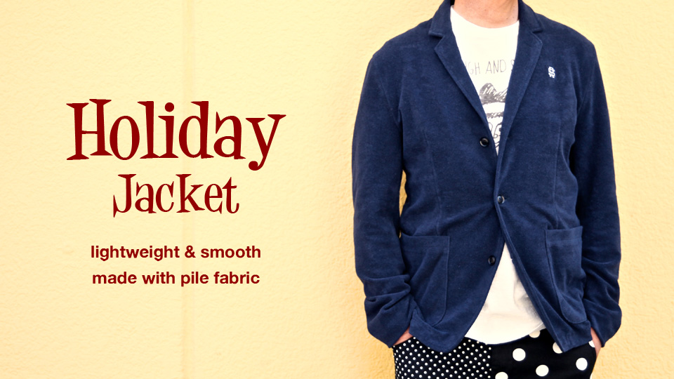 HOLIDAY JACKET BANNER