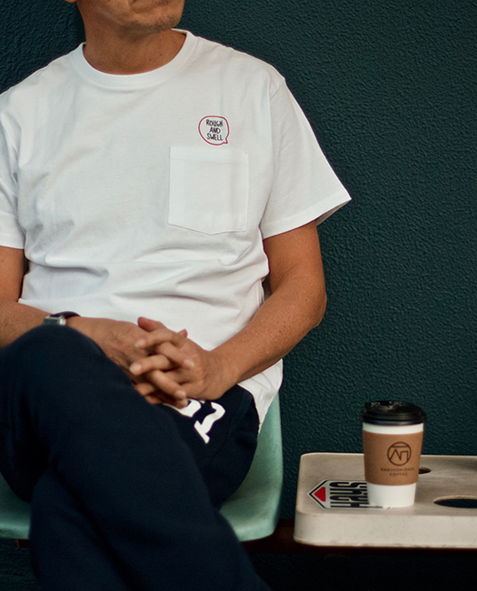 CHAT TEE WHITE