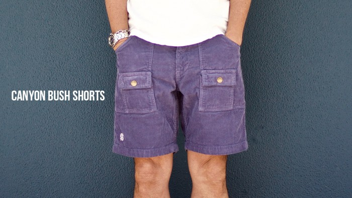 CANYON BUSH SHORTS BANNER