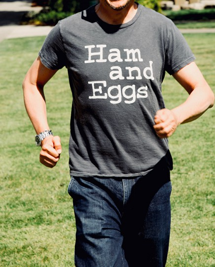 HAM AND EGGS TEE イメージ2